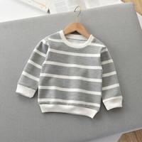 HUIZHI/绘志 秋季条纹长袖T恤
