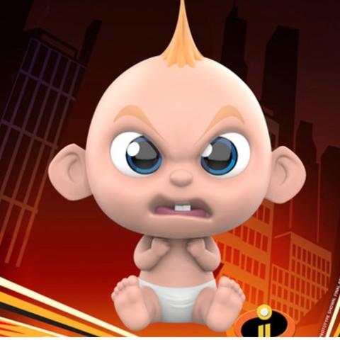 Hot Toys 狂热玩具 COSB479  超人总动员2系列  小杰 生氣版
