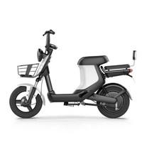 新日(Sunra)电动自行车锂电池新国标成人代步车轻便小型电瓶车脚踏男女单车 XC1星雨亮白 48v20A锂电升级款