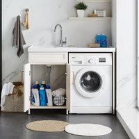 Huida 惠达卫浴 TL1200-01-BY 洗衣柜 1.2m 珐琅白