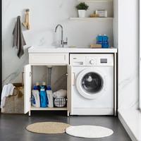 HUIDA 惠达 TL1200-01-BY 铝合金阳台洗衣柜 1.2m
