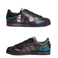 adidas Originals SUPERSTAR系列 中性运动板鞋  GY2676 白/白/一号黑