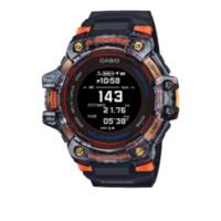 CASIO 卡西欧 G-SQUAD系列 GBD-H1000-1A4PR 55mm 男士心率监测运动腕表 黑盘 黑色树脂带 圆形