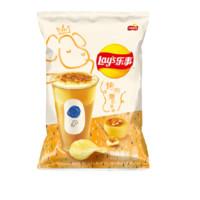 Lay\'s 乐事 麦吉machi联名款 马铃薯片组合装  260g(烤布蕾奶茶味65g*2+咖啡冻乌龙奶茶味65*2)