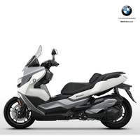 宝马BMW C400GT 摩托车 雪山白