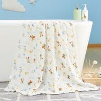 迪士尼  婴儿纯棉吸水浴巾 105*105cm