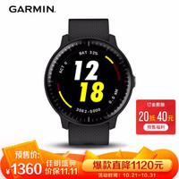 佳明(GARMIN)时尚手表 VA3 黑色音乐版智能手表 男女跑步表骑行游泳来电提醒运动表睡眠监测防水支付手表
