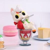 POPMART 泡泡玛特 小夏罐头猫甜点系列 盲盒 1个