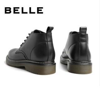 BeLLE 百丽 6BH11CD9 男士厚底耐磨短靴