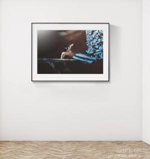 烏克蘭藝術家 列娜·博格列布娜婭《鹽 4號》Salt No.4