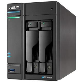 粉丝价 : ASUS 华硕 AS6602T 2盘位NAS(J4125、4GB)