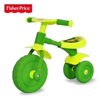 费雪学步车滑行车可坐可骑玩具车宝宝平衡车助步滑行车 绿色
