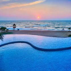 惠州檀悦都喜天丽度假酒店 高级海景房2晚(含双人温泉)