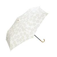 双11预售、88VIP:WPC 进口花织绣雨伞 53*88cm