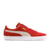 PUMA 彪马 Suede Classic 中性运动板鞋 352634-05 红/米色 42