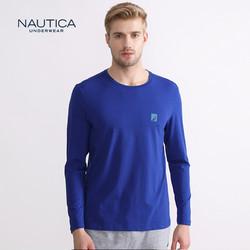 诺帝卡NAUTICA 男士新品精梳棉质舒适家居长袖 *4件
