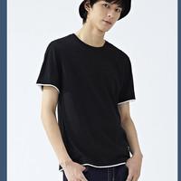 Semir 森马 19-334651 男士纯棉短袖T恤