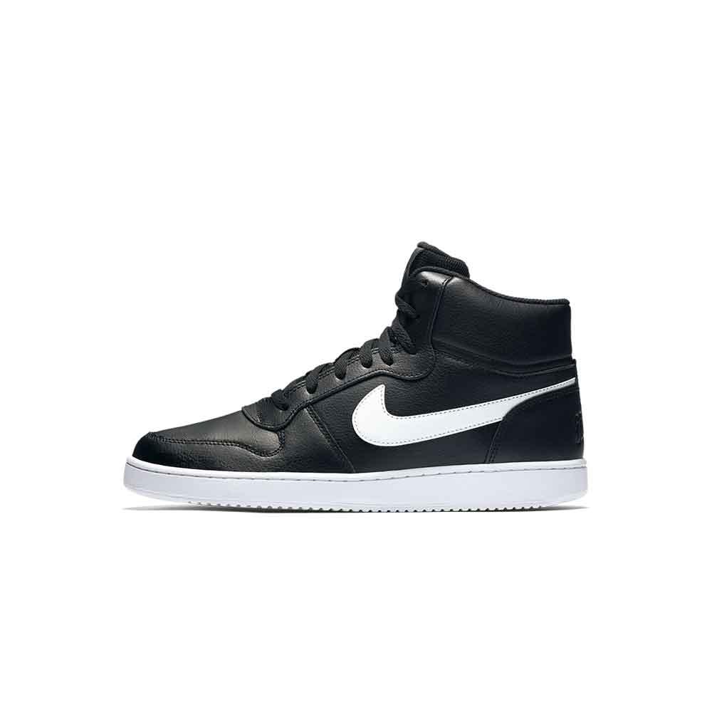NIKE 耐克 Ebernon Mid 男士休闲运动鞋 AQ1773-002 黑/白 45