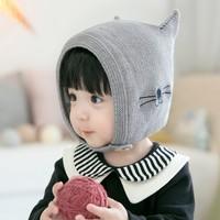 公主妈妈 秋冬季婴幼儿保暖帽