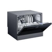 SIEMENS 西门子 SK256B00AC 全自动台式洗碗机 6套 拉丝黑