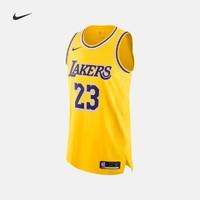 Nike耐克官方洛杉矶湖人队NIKE NBA AUTHENTIC男子球衣夏季AA7265
