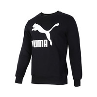 双11预售:【直营】Puma彪马卫衣运动休闲长袖圆领套头衫男士上衣595892-01