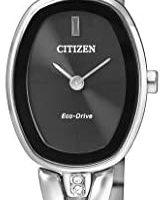 CITIZEN 西铁城 EX1410-88E 女式模拟经典太阳能手表