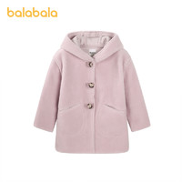 Balabala 巴拉巴拉 女童中长款外套