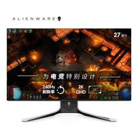 Alienware 外星人 AW2721D 27英寸 IPS显示器(2K、240Hz、HDR600)