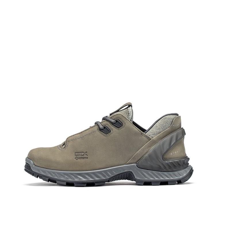 ecco 爱步 攀越系列 男士跑鞋 84070402602 金属灰色 40