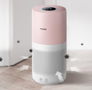 PHILIPS 飞利浦 AC2936 家用空气净化器 粉白色