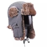 Arctos 极星 AEAD23687 兔皮毛雷锋保暖帽