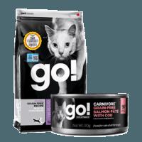 Go! 无谷九种肉全猫粮 16磅 送90克组合2件套