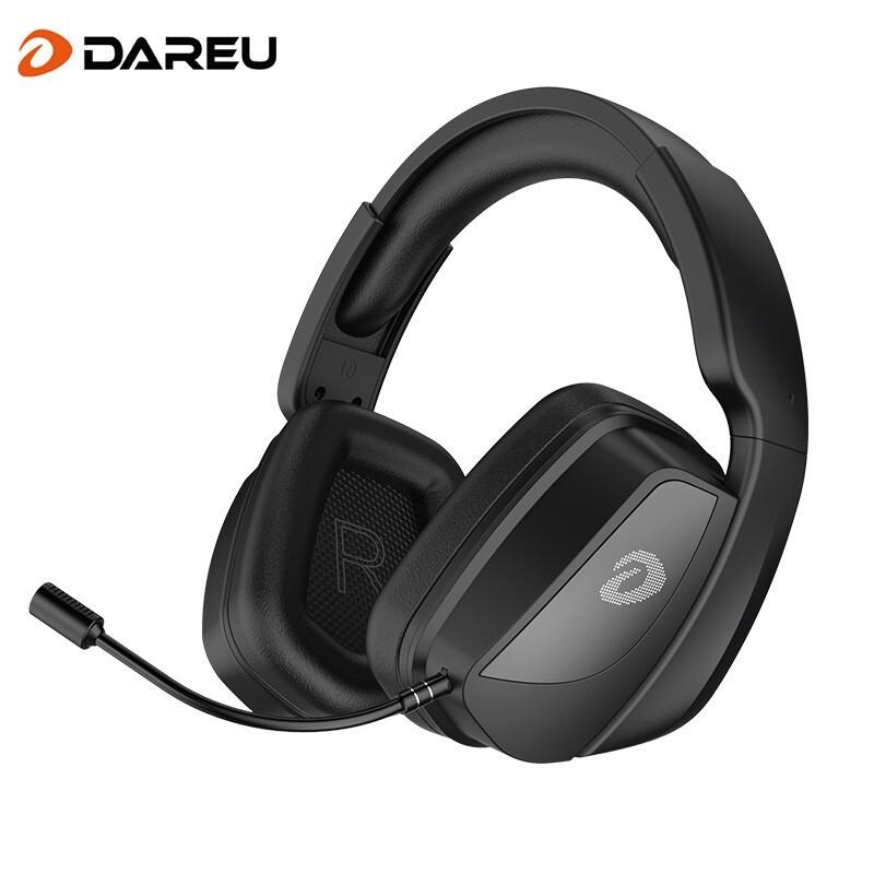 Dareu 达尔优A700 2.4G无线头戴式电竞耳机 黑色