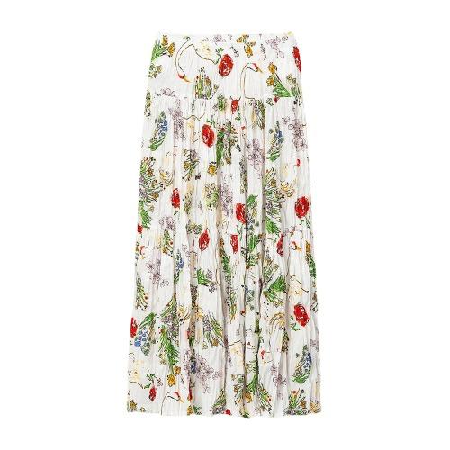 UNIQLO 优衣库 425448 女士打褶半身长裙