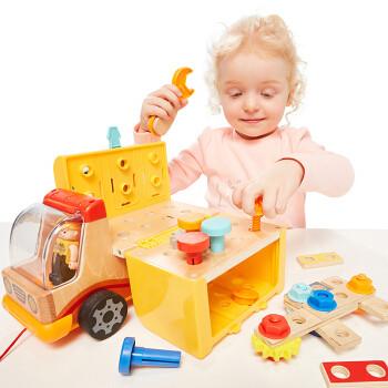 特宝儿(topbright)螺母工具车儿童玩具男孩女孩益智玩具3-6岁早教孩子生日礼物 *2件