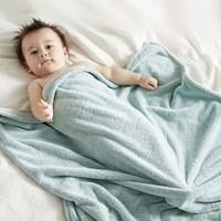 双11预售 : KUB 可优比 婴儿护肚围速干浴巾