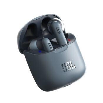 JBL TUNE220TWS 真无线蓝牙耳机入耳式运动耳机立体声通话 蓝色
