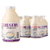 京东PLUS会员 : 中国台湾 正康纯豆奶330ml*12瓶 营养早餐奶 *3件