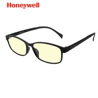 霍尼韦尔(Honeywell)防蓝光眼镜男女同款学生时尚轻薄游戏手机电脑护目镜平光无度数眼镜 *2件