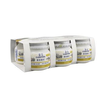 京东PLUS会员、限地区:CLASSY.KISS 卡士 原态酪乳 低温酸奶 125g*6罐 *8件