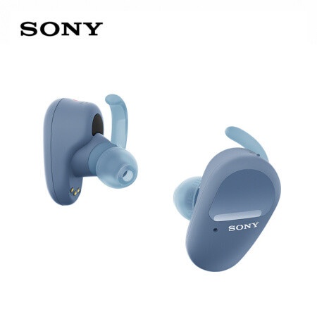 SONY 索尼 WF-SP800N 无线降噪蓝牙耳机 蓝色