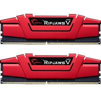 芝奇(G.SKILL)16GB(8Gx2)套装 DDR4 3200频率 台式机内存条 Ripjaws V系列/法拉利红