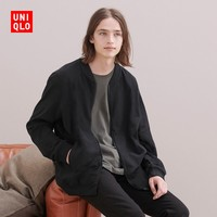 UNIQLO 优衣库  430014 男士磨毛棉拉链外套