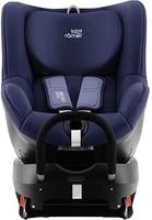 Britax 宝得适 DUALFIX 2 R 儿童汽车安全座椅 适用于0-4岁/0-18kg儿童 可旋转式Isofix锁 组别0+/1,月光蓝
