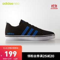 阿迪达斯官方adidas neo VS PACE 男子 休闲鞋 AW4591 黑色/蓝色 44.5(275mm)