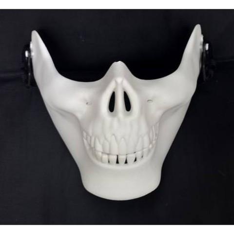 DRAGON MOMOKO 龙桃子 白色骷髅下巴面具