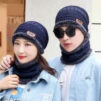 yitingq 毛线帽子+围脖套装