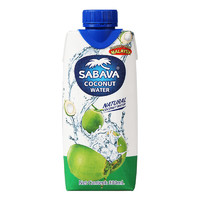 Sabava 沙巴哇 天然椰子水 330ml*12瓶 *4件