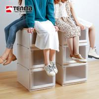 Tenma天马株式会社优妮特系列抽屉式收纳箱卧室客厅塑料储物箱盒